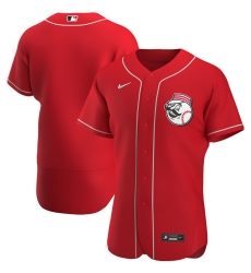 Men Cincinnati Reds Men Nike Red Alternate 2020 Flex Base Team MLB Jersey
