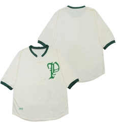 Men Detroit Tigers Blank Cream 1910 Throwback Jersey