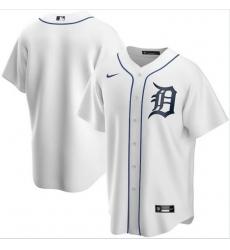 Men Detroit Tigers Nike White Blank Jersey