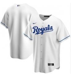 Men Kansas City Royals Nike White Blank Jersey