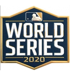 Los Angeles Dodgers 2020 World Series Patch