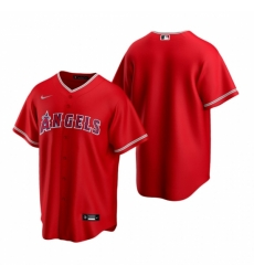 Mens Nike Los Angeles Angels Blank Red Alternate Stitched Baseball Jersey