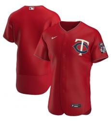 Men Minnesota Twins Men Nike Red Alternate 2020 Flex Base Official Team MLB Jersey