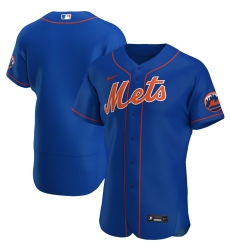 Men New York Mets Men Nike Royal Alternate 2020 Flex Base Official Team Name MLB Jersey