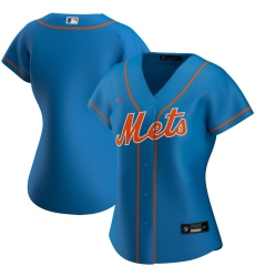 New York Mets Nike Women Alternate 2020 MLB Team Jersey Royal