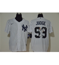 Yankees 99 Aaron Judge White Nike Cool Base Player Jersey