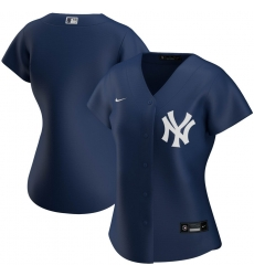 New York Yankees Nike Women Alternate 2020 MLB Team Jersey Navy