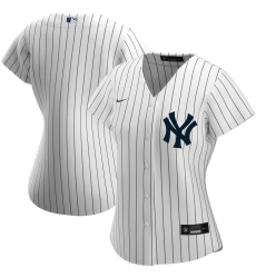 New York Yankees Nike Women Home 2020 MLB Team Jersey White