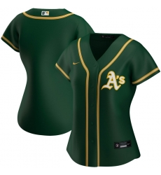 Oakland Athletics Nike Women Alternate 2020 MLB Team Jersey Green