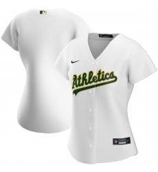 Oakland Athletics Nike Women Home 2020 MLB Team Jersey White
