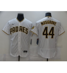 Men Nike San Diego Padres 44 Musgrove Tan white Authentic Alternate Player Jersey