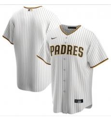 Men San Diego Padres Nike White Blank Jersey