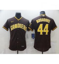 Women Nike San Diego Padres Joe Musgrove Brown Collection Baseball Player Jersey