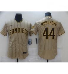 Women Nike San Diego Padres Joe Musgrove Sand Brown Collection Baseball Player Jersey