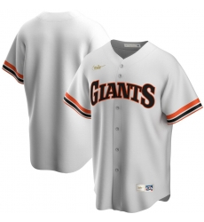Men San Francisco Giants Nike Home Cooperstown Collection Team MLB Jersey White