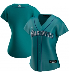 Seattle Mariners Nike Women Alternate 2020 MLB Team Jersey Aqua