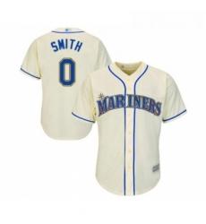 Youth Seattle Mariners 0 Mallex Smith Replica Cream Alternate Cool Base Baseball Jersey