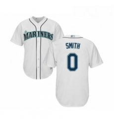 Youth Seattle Mariners 0 Mallex Smith Replica White Home Cool Base Baseball Jersey