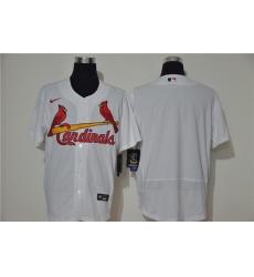 Cardinals Blank White Nike 2020 Cool Base Jersey