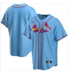 Men St. Louis Cardinals Nike Blue Blank Jersey