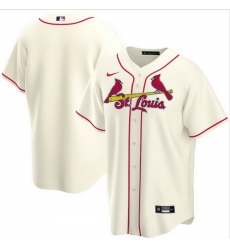 Men St. Louis Cardinals Nike Ice Cream Blank Jersey