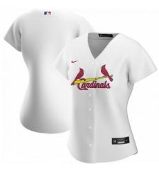St.Louis Cardinals Nike Women Home 2020 MLB Jersey White
