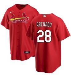 Youth St. Louis Cardinals Nolan Arenado Red Jersey Home Cool Base
