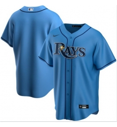 Men Tampa Bay Rays Nike Blue Blank Jersey