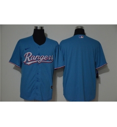 Rangers Blank Blue Nike 2020 Cool Base Jersey