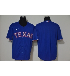 Rangers Blank Royal Nike 2020 Cool Base Jersey