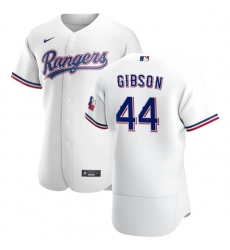 Texas Rangers 44 Kyle Gibson Men Nike White Home 2020 Authentic Player MLB Jersey