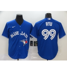 Blue Jays 99 Hyun Jin Ryu Royal 2020 Nike Cool Base Jersey