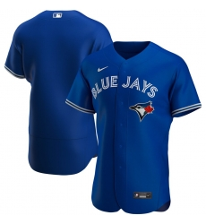 Men Toronto Blue Jays Men Nike Royal Alternate 2020 Flex Base MLB Jersey