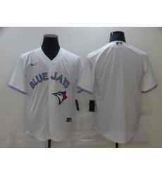 Men Toronto Blue Jays Nike White Blank Jersey