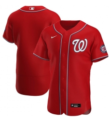 Men Washington Nationals Men Nike Red Alternate 2020 Flex Base Team MLB Jersey