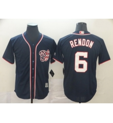 Nationals 6 Anthony Rendon Navy Cool Base Jersey