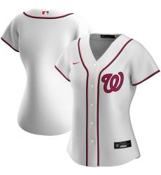 Washington Nationals Nike Women Home 2020 MLB Team Jersey White
