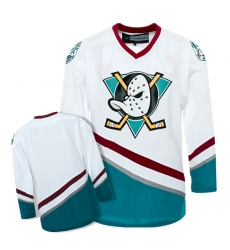 All Size Anaheim Ducks adidas White Home Authentic Blank Jersey