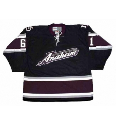 All size Blank 2005 Anaheim Mighty Ducks Alternate Throwback Jersey