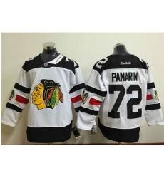 Blackhawks #72 Artemi Panarin White 2016 Stadium Series Stitched NHL Jersey