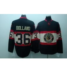 Chicago Blackhawks 36 Bolland Black Jerseys New Third 2010 STANLEY CUP CHAMPIONS