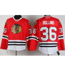 Chicago Blackhawks 36 Dave Bolland Red NHL Jerseys