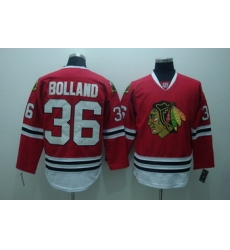 Chicago Blackhawks 36 Dave bolland red jerseys