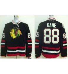 Chicago Blackhawks 88 Patrick Kane Black 2014 Stadium Series Jerseys