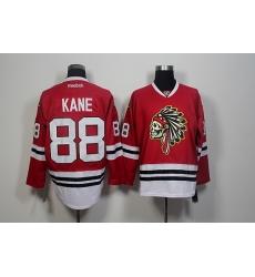 Chicago Blackhawks #88 Patrick Kane Red Skull Reebok Authentic Stitched NHL Jersey