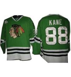 Chicago Blackhawks Edge Kane #88 Green
