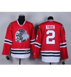 NHL Chicago Blackhawks #2 Duncan Keith Stitched red jerseys[2014 new]