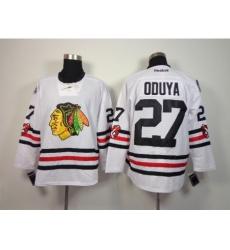 NHL Chicago Blackhawks #27 Oduya 2015 Winter Classic White Jerseys
