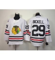 NHL Chicago Blackhawks #29 Bickell 2015 Winter Classic White Jerseys