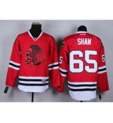 NHL Chicago Blackhawks #65 Andrew Shaw Stitched red jersey[2014 new]